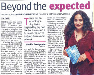 DNA Article: Beyond the expected.