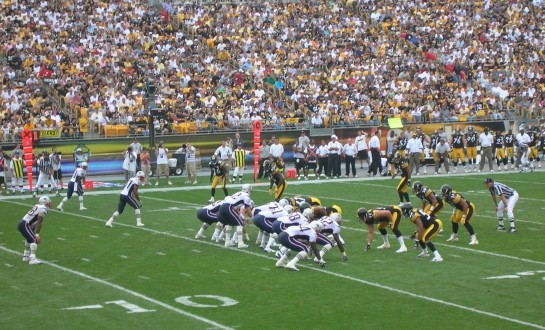 Patriots-Steelers 2005